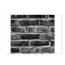 Brick Wall 9 Postcards (Package of 8)