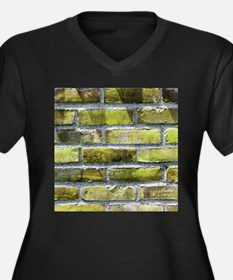 Brick Wall 8 Plus Size T-Shirt