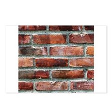 Brick Wall 1 Postcards (Package of 8)
