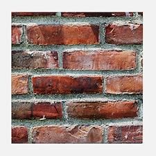 Brick Wall 1 Tile Coaster