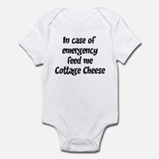 Feed me Cottage Cheese Infant Bodysuit