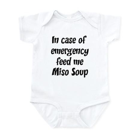 Feed me Miso Soup Infant Bodysuit