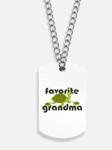 Favorite Grandma Dog Tags