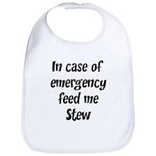 Feed me Stew Bib