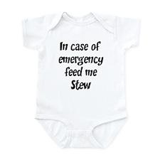 Feed me Stew Infant Bodysuit