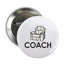 """Armchair Coach 2.25"""" Button"""