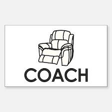 Armchair Coach Decal