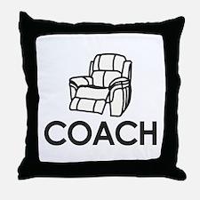 Armchair Coach Throw Pillow