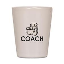 Armchair Coach Shot Glass