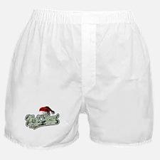 Christmas Wall Street Boxer Shorts