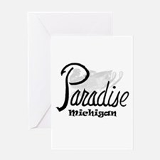 Paradise, Mi. Greeting Cards