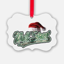 Christmas Wall Street Ornament