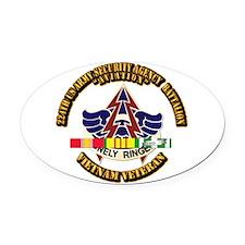 DUI - 224th USA Security Agency Bn w SVC Ribbon Ov