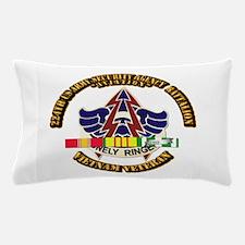 DUI - 224th USA Security Agency Bn w SVC Ribbon Pi