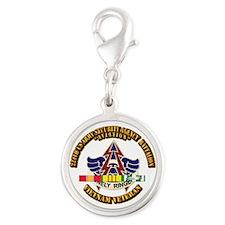 DUI - 224th USA Security Agency Bn w SVC Ribbon Si