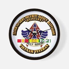 DUI - 224th USA Security Agency Bn w SVC Ribbon Wa