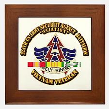 DUI - 224th USA Security Agency Bn w SVC Ribbon Fr
