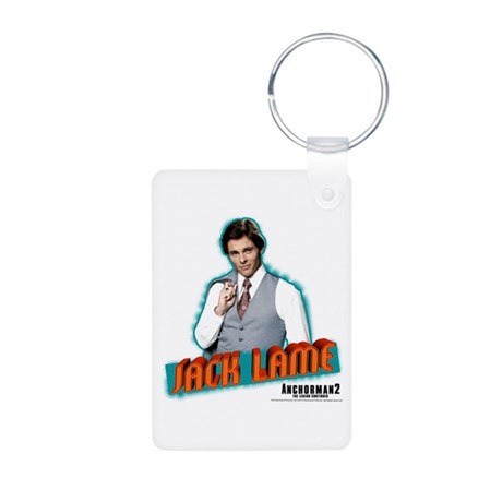 Jack Lame Aluminum Photo Keychain