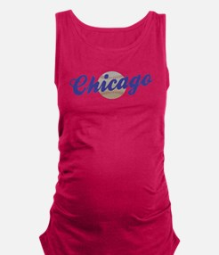 chicaagobasebal.png Maternity Tank Top