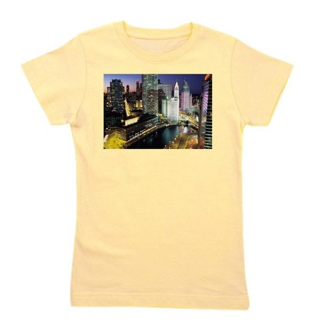 chicagonight6x4_pcard.png Girl's Tee