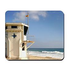 Laguna Beach Lifeguard Tower Mousepad