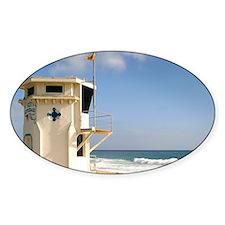 Laguna Beach Lifeguard Tower Decal