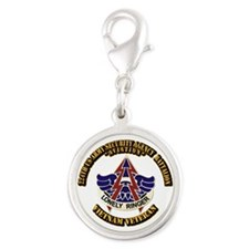 DUI - 224th USA Security Agency Bn Silver Round Ch