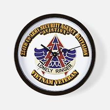 DUI - 224th USA Security Agency Bn Wall Clock