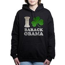 ishambarackobama3.png Hooded Sweatshirt