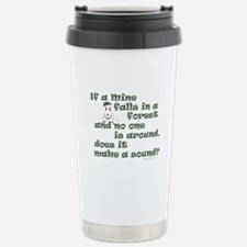 If a Mime Falls in the Forest Travel Mug