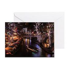 New Lights San Antonio Riverwalk 201 Greeting Card