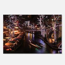 New Lights San Antonio Ri Postcards (Package of 8)