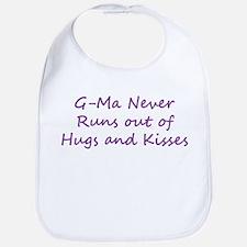 G Ma Hugs and Kisses Bib