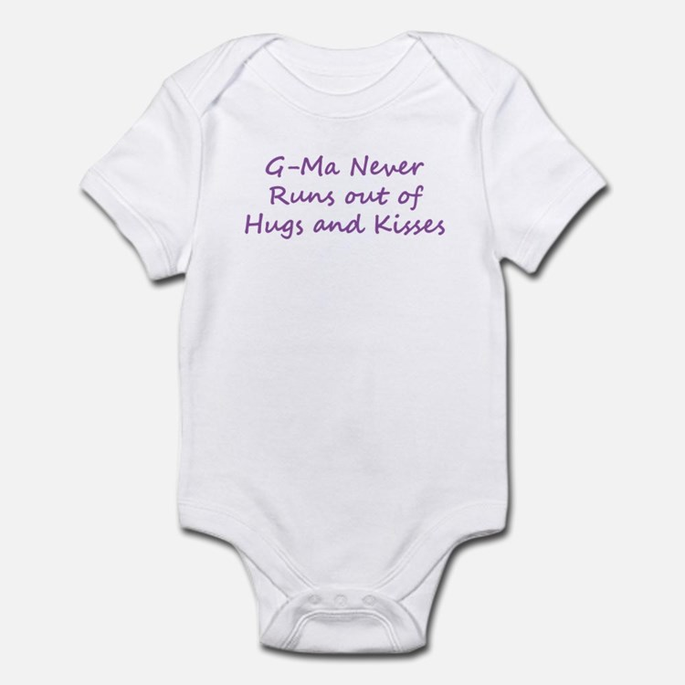 G Ma Hugs and Kisses Infant Bodysuit