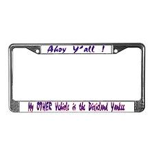 NEW! License Plate Frame