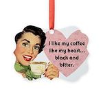 Vintagte Coffee Picture Ornament
