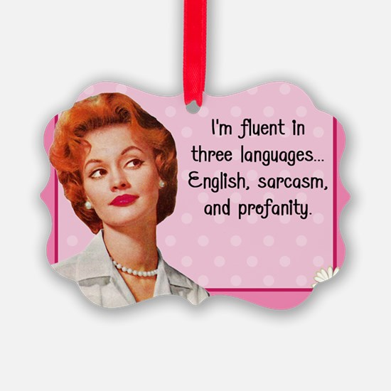 Vintage Woman Ornament