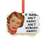Vintage Mother Picture Ornament