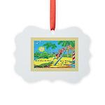 Funny Florida Picture Ornament