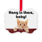 Funny Cat Picture Ornament