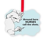 Funny Nursing Picture Ornament