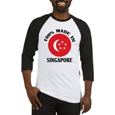 Made In Singapore Baseball Jersey