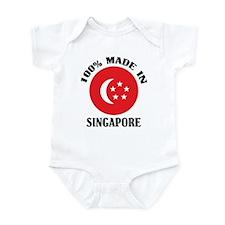 Made In Singapore Onesie