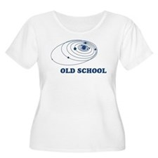 Old School Solar System Plus Size T-Shirt