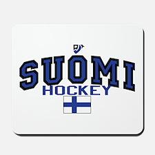 Finland(Suomi) Hockey Mousepad