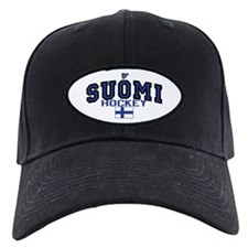 Finland(Suomi) Hockey Baseball Hat