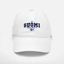 Finland(Suomi) Hockey Baseball Baseball Cap