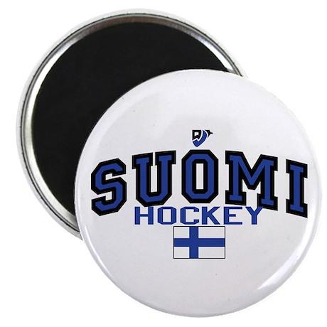 Finland(Suomi) Hockey Magnet