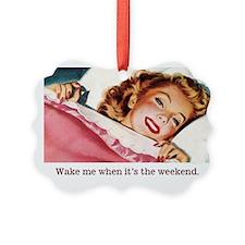 Vintage Weekend Ornament