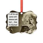 Vintage Grandma Picture Ornament